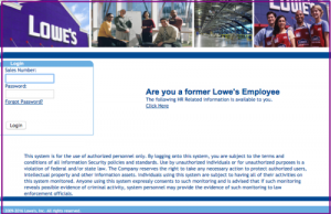 Lowes Employee Benefits >> Myloweslife The Lows Employees Can Now View Their